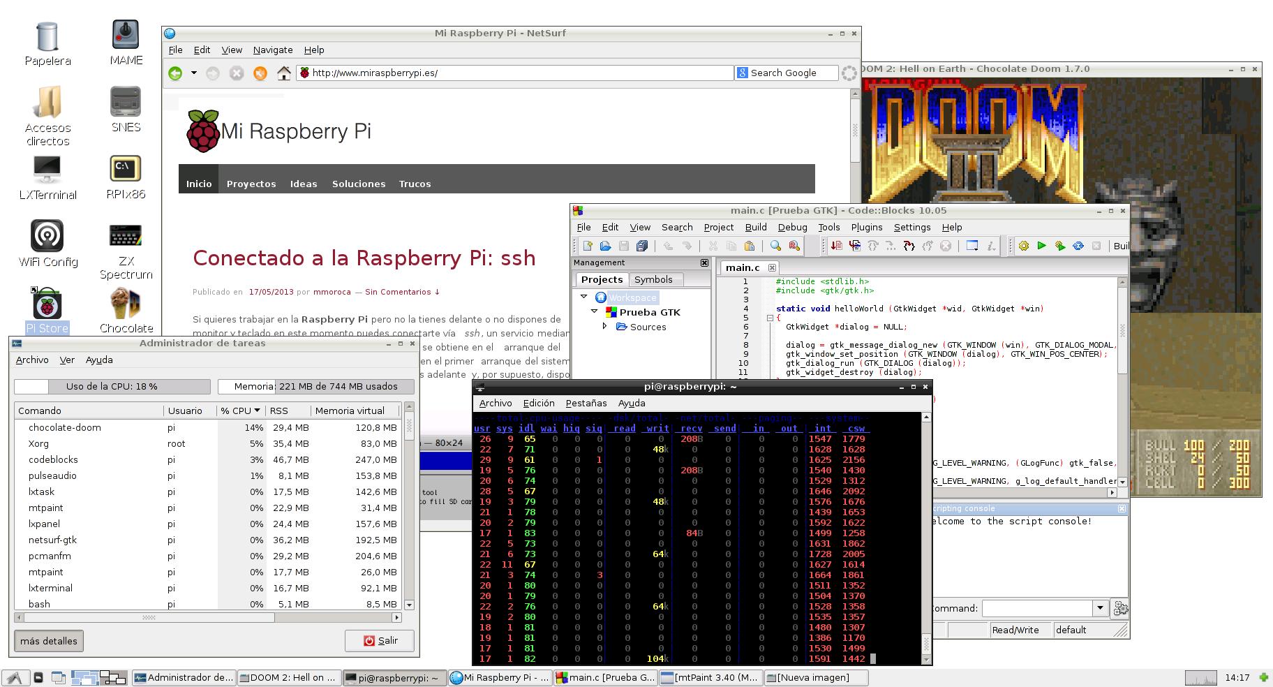 Prueba de estrés de la Raspberry Pi 2