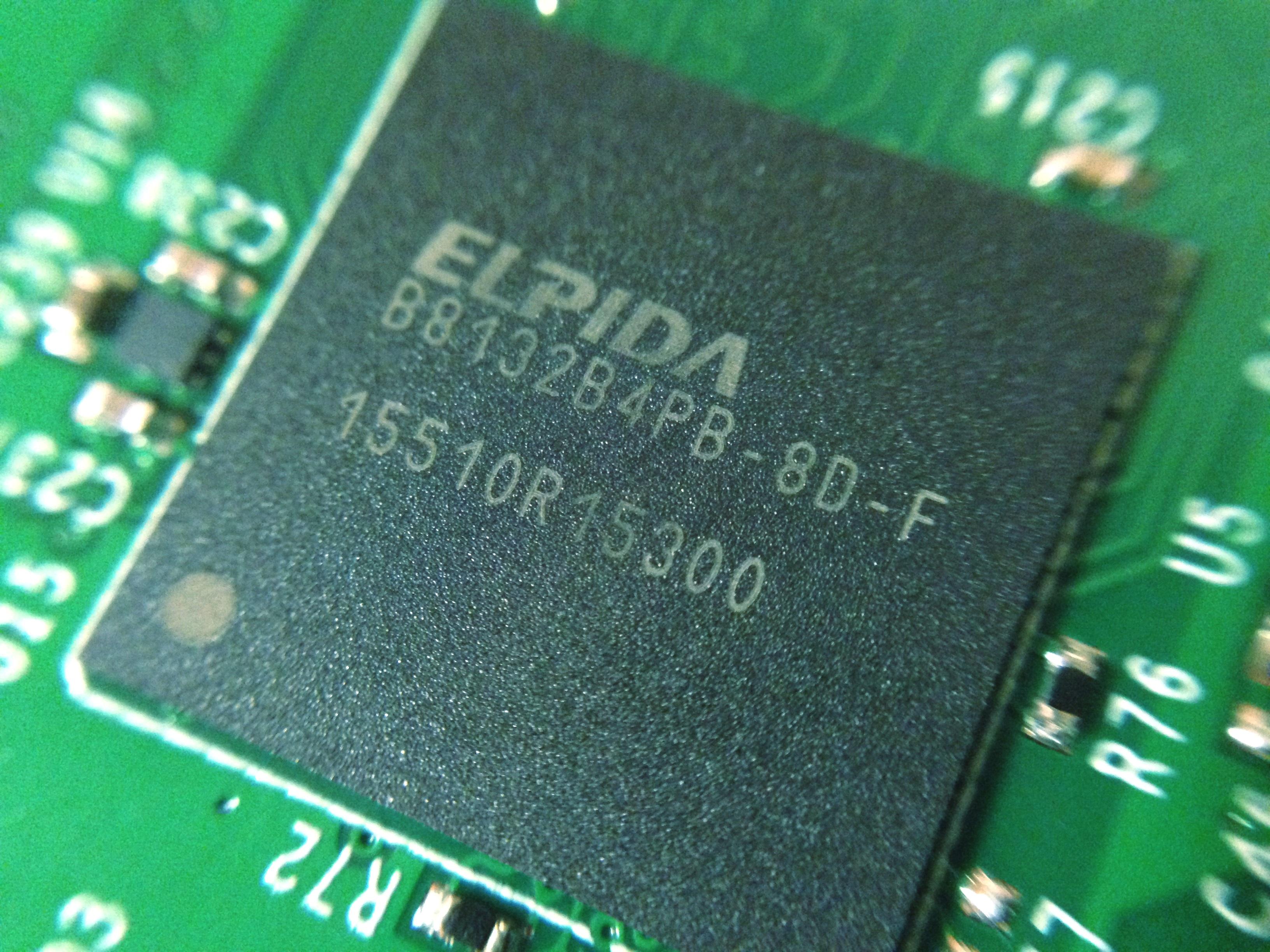 Raspberry Pi 3 ELPIDA